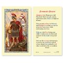 Ambrosiana 800-1218 St. Florian Fireman'S Prayer Holy Card