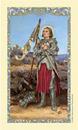 Ambrosiana 800-1229 Saint Joan Of Arc Laminated Holy Card