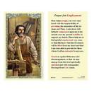 Ambrosiana 800-1241 Saint Joseph the Worker Laminated Holy Card - 25/pk