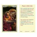 Ambrosiana 800-1248 Saint Luke Laminated Holy Card - 25/pk