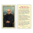 Ambrosiana 800-1252 Saint Maximilian Kolbe Prayer Holy Card