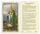 Ambrosiana 800-1259 Saint Patrick Laminated Holy Card