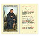 Ambrosiana 800-1263 Saint Peregrine (Prayer To Saint Peregrine) Holy Card