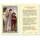 Ambrosiana 800-1267 St. Raphael Laminated Holy Card - 25/pk