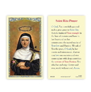 Ambrosiana 800-1268 Saint Rita Holy Card