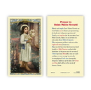 Ambrosiana 800-1286 St. Maria Goretti Prayer Holy Card