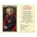 Ambrosiana 800-1289 Saint John Henry Cardinal Newman Laminated Holy Card - 25/pk