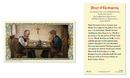 Ambrosiana 800-1297 Thanksgiving Laminated Holy Card - 25/Pk