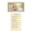 Ambrosiana 800-1464 Baptism - The Greatest Gift Holy Card