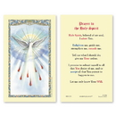 Ambrosiana 800-1725 Holy Spirit Laminated Holy Card - 25/pk