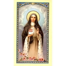 Gerffert 800-209 Saint Hedwig With Prayer Holy Card