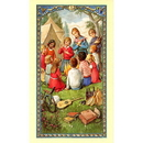 Gerffert 800-277 Family Vacation Holy Card