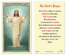 Ambrosiana 800-3430 Christ Blessing The Lord'S Prayer Holy Card