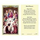 Ambrosiana 800-3526 Last Supper Laminated Holy Card - 25/pk