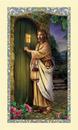 Ambrosiana 800-3626 Christ Knocking Holy Card