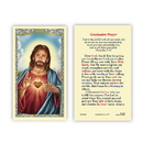 Ambrosiana 800-3900 Sacred Heart Vocation Prayer Holy Card