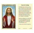 Ambrosiana 800-3902 Christ Blessing Laminated Holy Card - 25/pk
