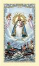 Ambrosiana 800-4195 Caridad Del Cobre Laminated Holy Card