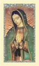 Ambrosiana 800-4270 Our Lady Of Guadalupe Laminated Holy Card - 25/Pk