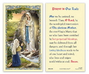 Ambrosiana 800-4305 Our Lady Of Lourdes Holy Card