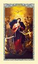 Ambrosiana 800-4405 Mary, Untier Of Knots Laminated Holy Card