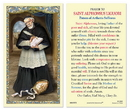 Ambrosiana 800-5021 Saint Alphonsus Prayer Holy Card