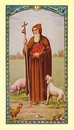 Ambrosiana 800-5071 St. Anthony Laminated Holy Card - 25/pk