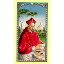 Gerffert 800-537 Saint Robert With Prayer Holy Card