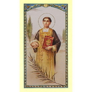 Gerffert 800-543 Saint Stephen Holy Card