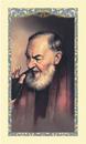 Ambrosiana 800-6020 Saint Pio Laminated Holy Card