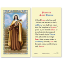 Ambrosiana 800-6180 St. Therese Laminated Holy Card - 25/pk