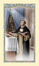 Ambrosiana 800-6210 Saint Thomas Aquinas Laminated Holy Card