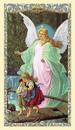 Ambrosiana 800-7026 Guardian Angel Crossing Bridge Holy Card