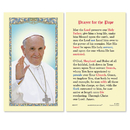 Ambrosiana 800-997 Pope Francis (Prayer For The Pope) Holy Card