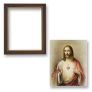 Gerffert 81-840 Framed Sacred Heart Of Jesus