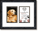 Guardian Angel Protect - Dog Framed Photo Tabletop Christian Verse