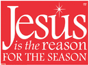 Christian Brands 92001UD Yard Sign-Jesus Is The Reason (Red)