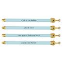 Christian Brands B1675 Crown Pen - Blue