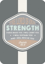 Christian Brands B1715 VerseMark -The Lord is Our Strength