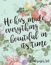 Christian Brands B1796 Square Magnet - Everything Beautiful