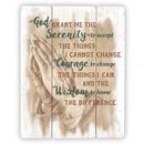 Gerffert B2276 Gerffert Wood Pallet Sign - Serenity Prayer