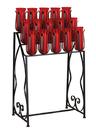 Sudbury B3029 15 Light Votive Stand With Prongs