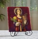 Ambrosiana B3091 B3091 Marco Sevelli Tile Plaque - St. Cecilia