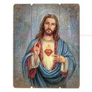 Gerffert B3117 Wood Pallet Sign - Adams: Sacred Heart