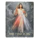 Gerffert B3121 Wood Pallet Sign - Divine Mercy