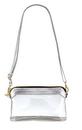 Christian Brands B3470 Clear Stadium Bag - Silver