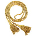 Cambridge B3995GLD12 Wghtd Pew Rope With Tassels