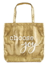 Faithworks B4111 Choose Joy  Gold Tote Bag