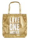 Faithworks B4112 Love One Another  Gold Tote Bag