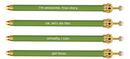 Christian Brands B4137 Crown Pen - Kale